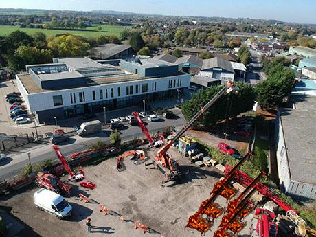 crane hire head office