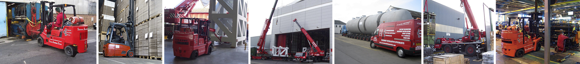 Factory Relocation Machinery Installation