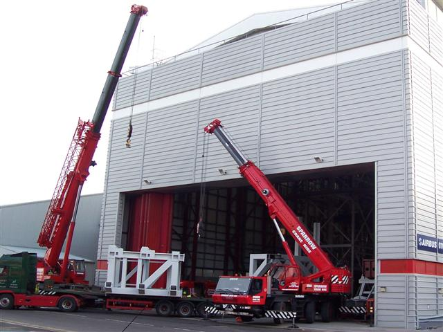 Factory Relocation & Machinery Installation